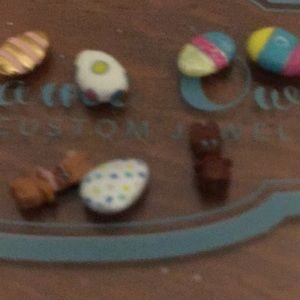 Origami owl Easter charms